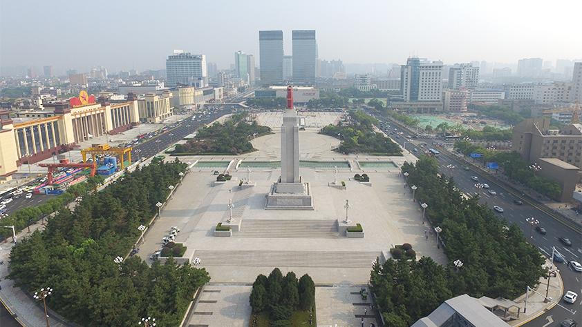 新华直播:带你去看焕然一新的八一广场和八一起义纪念馆