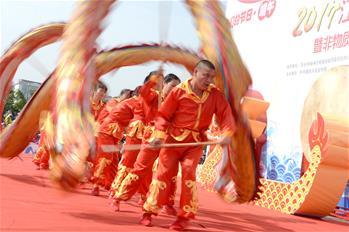江西萍鄉:大型文化巡遊展演迎端午