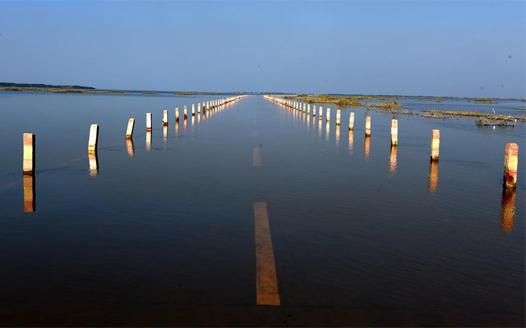 江西永修:再現水上公路