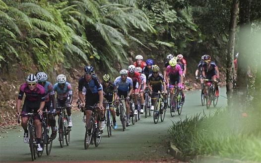 第八屆環鄱陽湖國際自行車賽落幕