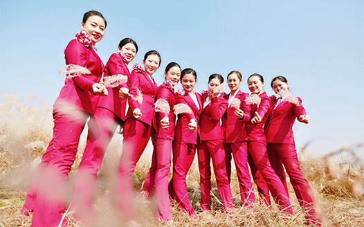 九景衢通車在即 鄱陽湖畔高姐荻花相映紅