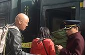 春運期間贛州火車站發送旅客101.6萬人次