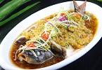 美食家推薦:麻油花椒蒸鱸魚