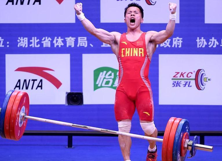 全國男子舉重錦標賽:黃志勇獲62公斤級挺舉冠軍