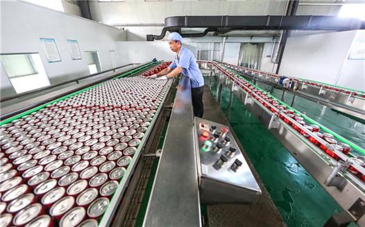 """江西""""白蓮之鄉""""研發荷葉茶開拓市場"""
