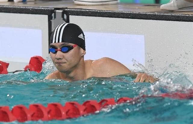 全國夏季遊泳錦標賽:寧澤濤獲男子50米自由泳亞軍