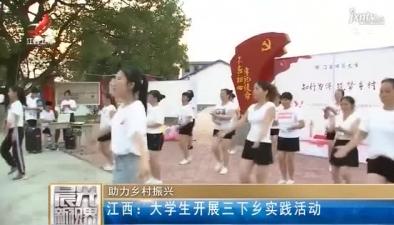 江西:大学生开展三下乡实践活动