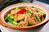 今日食谱:青胡椒焗鸡件