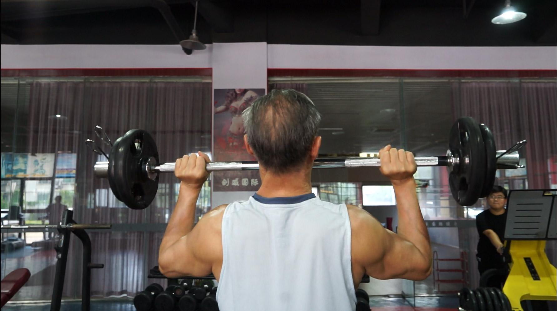 發揮余熱 幫助更多人強身健體