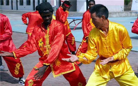 江西新余:非洲留學生體驗中華傳統文化