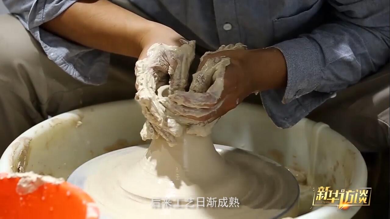 景德鎮氛圍比較好,家家戶戶都在做陶瓷。