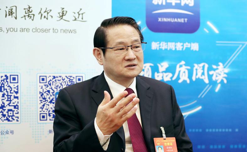 新華網專訪易煉紅
