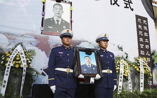 江西贛州:撲救木裏森林火災犧牲烈士魂歸故裏