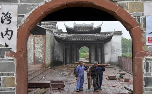 江西南昌:修復古建築群 打造文旅名村
