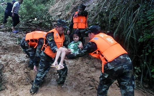 暴雨致吉安27萬余人受災 江西啟動救災三級應急響應