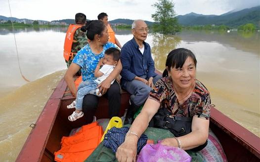 洪流逆行——在中鄉救援記