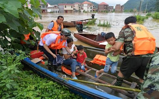 江西洪澇受災人數超過200萬
