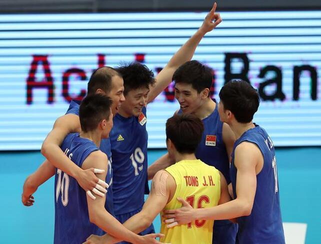 世界男排聯賽葡萄牙站:中國不敵塞爾維亞