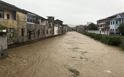 江西:暴雨已致22.8萬人受災