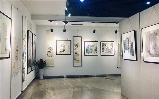 江西美術出版社建社30周年展覽在南昌舉行