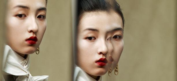 張子楓時尚大片 濃烈油畫式粧容復刻優雅