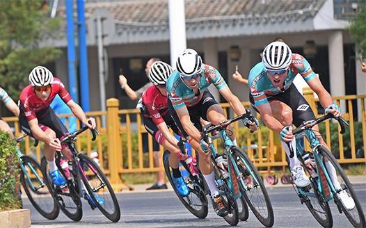 第十屆環鄱陽湖國際自行車賽第二賽段賽況