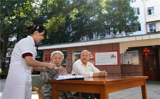 江西贛州:社區養老 安享晚年