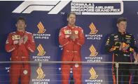F1新加坡站法拉利車隊包攬冠亞軍
