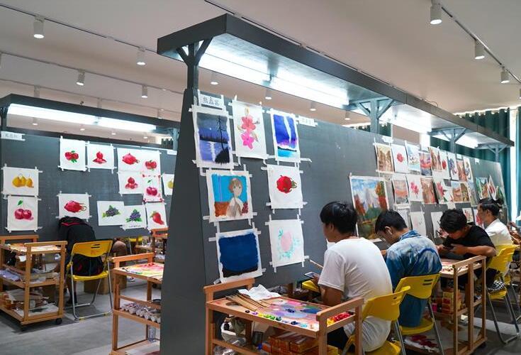 江西黎川:依托油畫産業打造文化名片