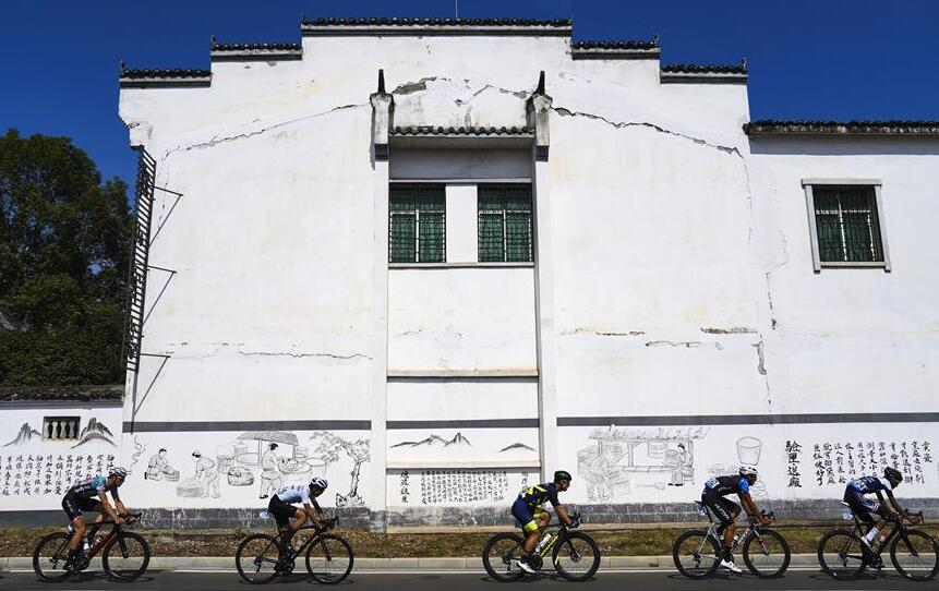 第十屆環鄱陽湖國際自行車賽第8賽段賽況