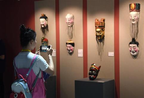 無煩群像·南豐國際面具文化陳列展開展