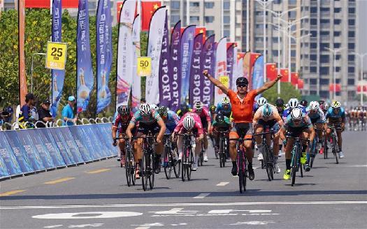 第十屆環鄱陽湖國際自行車賽落下帷幕
