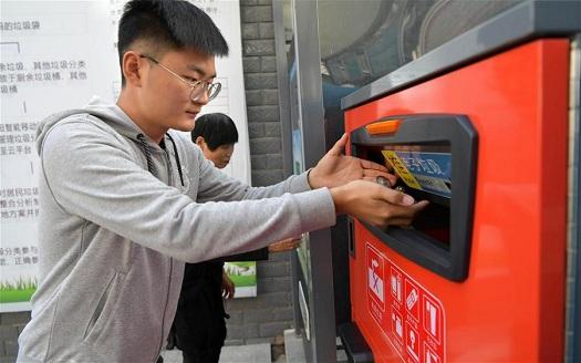 江西南昌:垃圾分類進社區