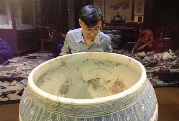 希望把陶瓷修復技藝傳承下去