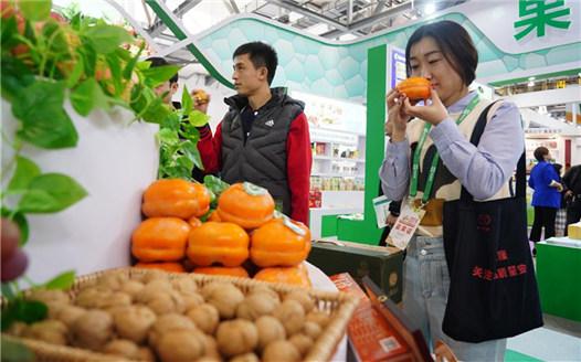 第十七屆中國國際農産品交易會在南昌開幕