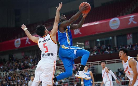 籃球——CBA常規賽:福建豹發力勝八一南昌