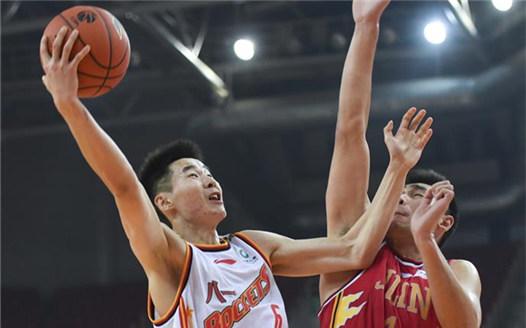 籃球——CBA常規賽:八一南昌勝吉林九臺農商銀行