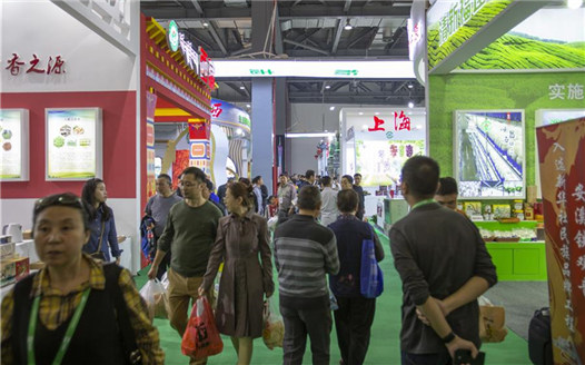 第十七屆中國國際農産品交易會在南昌舉行
