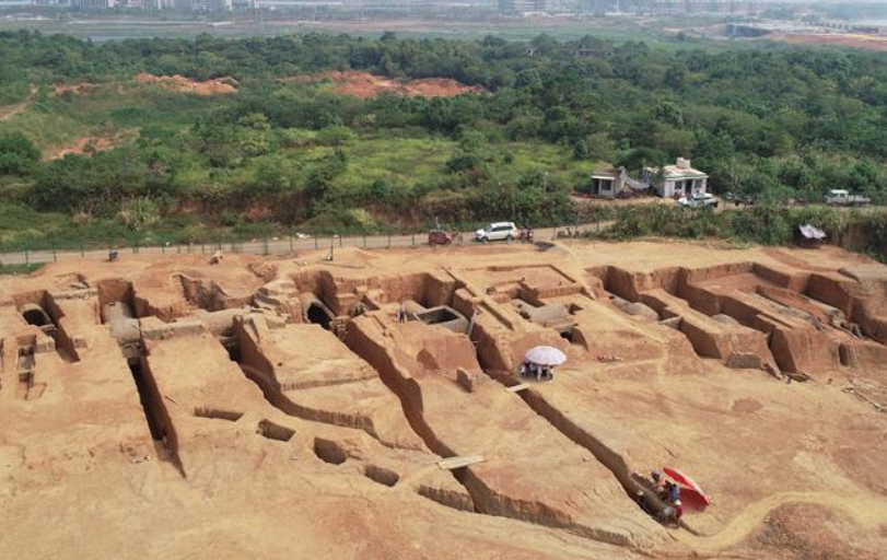 江西南昌發現罕見大型六朝墓群