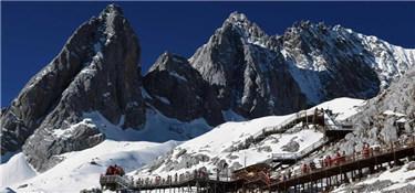 雲南麗江:玉龍雪山景色壯美