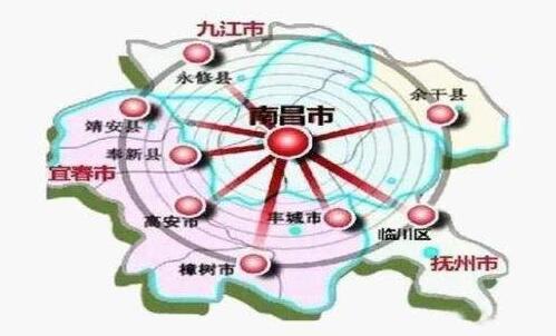 江西今年全面實施大南昌都市圈發展規劃
