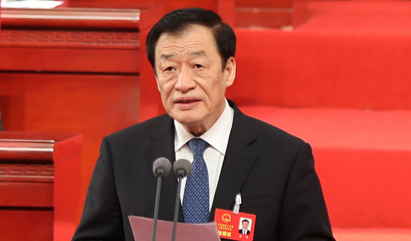 江西省委書記、省人大常委會主任劉奇宣布會議開幕