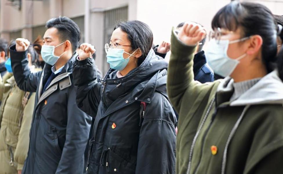 江西:青年黨員幹部奮戰基層疫情防控一線