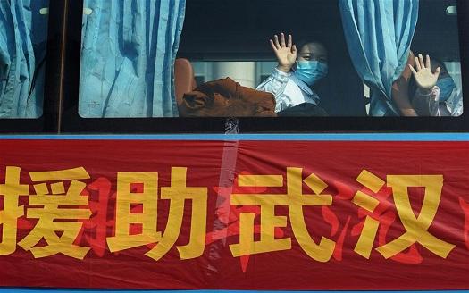 江西援助武漢醫療護理隊啟程
