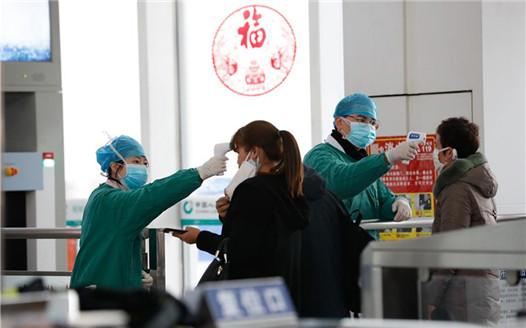 上饒火車站:加強防控 迎接返程客流