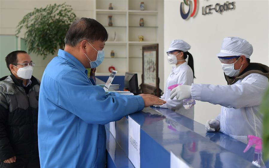 江西南昌:嚴格防疫 安全復工