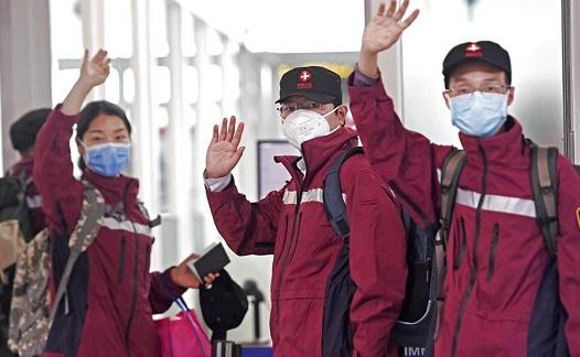 中國政府赴烏茲別克斯坦聯合工作組啟程