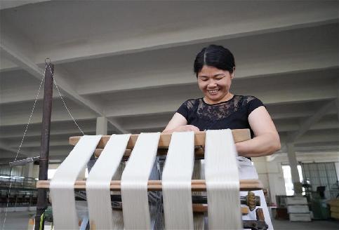 江西樂安:蠶桑産業促增收