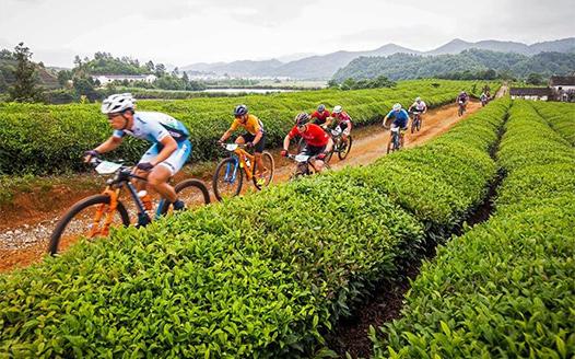 自行車——珍珠山山地自行車越野挑戰賽在江西婺源舉行