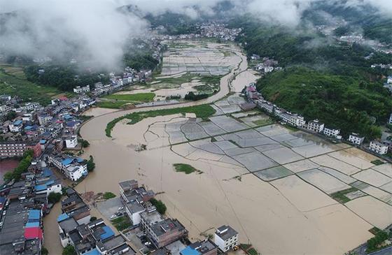 江西遭遇強降雨 緊急啟動救災應急響應